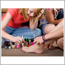 Chemicals found in some cosmetics can be harmful to young girls and teenagers.