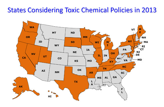Despite intense industry opposition and Congressional inaction, state governments continue to defend the vulnerable from toxic chemical exposure.